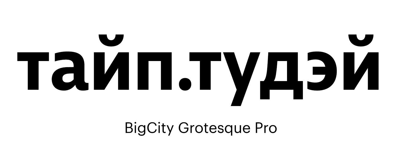 BigCity-Grotesque-Pro